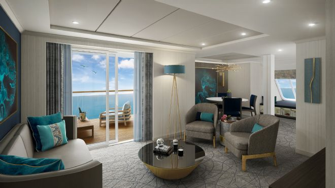 SAGA Cruise ship: BEAUFORT announces Soft Furnishings contract with new SAGA Cruise Ship for completion in Summer 2019.
