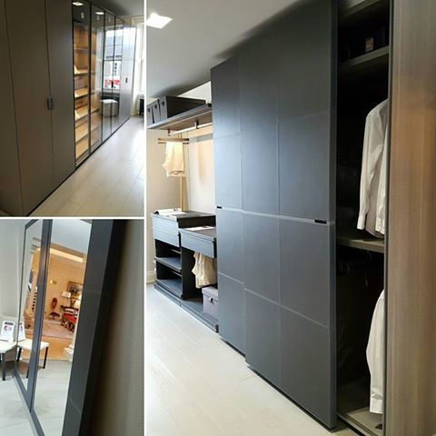 The new POLIFORM Walk-In Closet at Beaufort Interiors