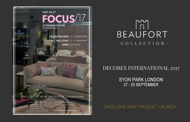 We are exhibiting at DECOREX 2017