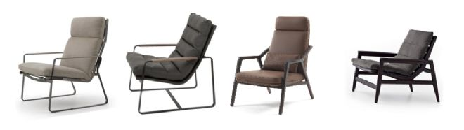 The BEST seat in the house: A comparison of our Bestselling contemporary open-frame armchairs