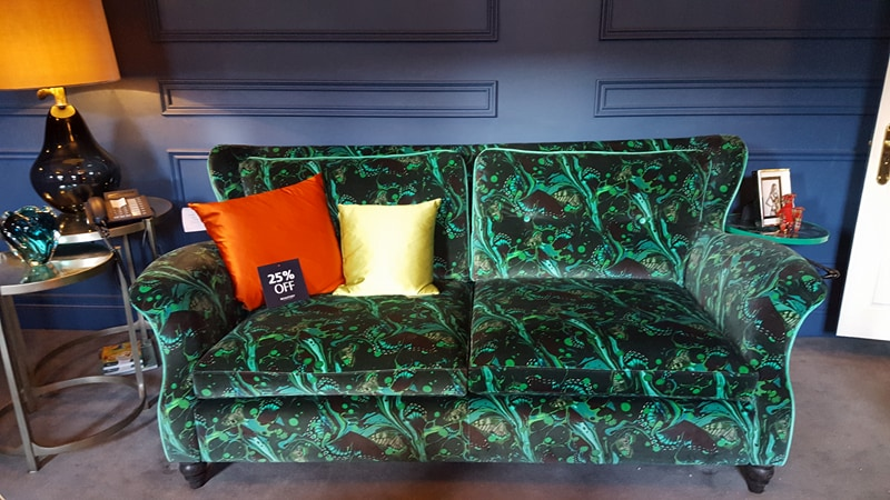 Duresta Kemp Sofa by Matthew Williamson