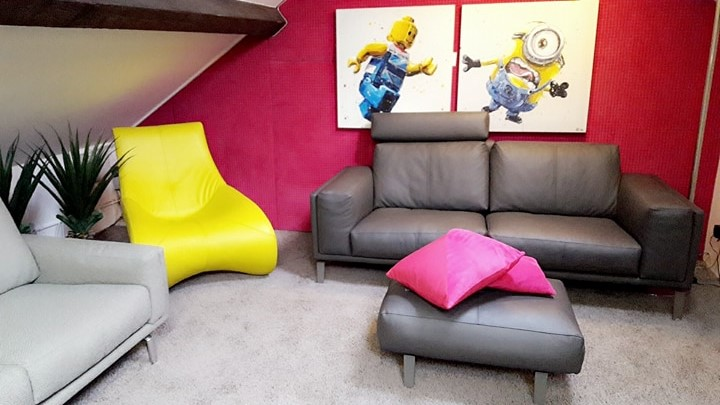 Bellice sofa and Darius Chair
