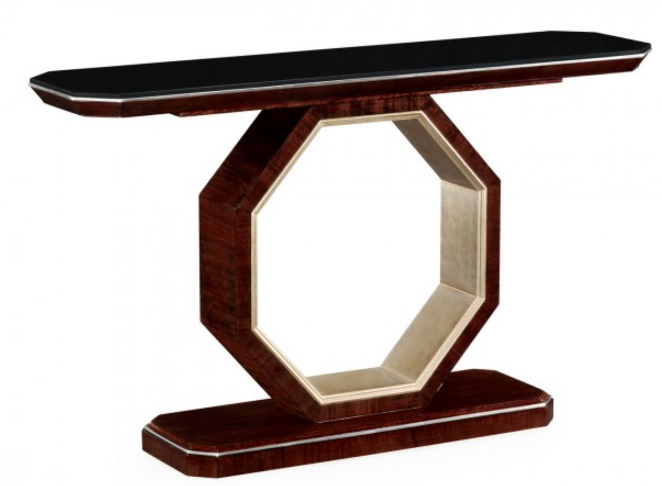 Black Eucalyptus Console Table by Jonathan Charles